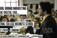 Imperial College Business School / Davide Scialpi's speech at Imperial College Business  / by Davide Scialpi