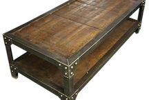 mesas de hierro