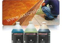 Pisos cemento pulido de color
