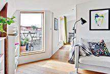 Interiéry - obývací pokoje