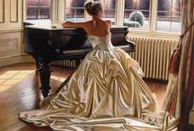 La dama y el piano