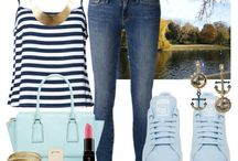 Outfit Ideas For A Date On The Water - Girls / So ladies…for our latest style update the beautiful weather has gotten us thinking about romantic outdoor dates – and what could be more romantic than a stroll or a picnic date on the beach, or taking to the water in a rowing boat with strawberries and Prosecco?