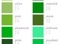 Vocabolario dei colori