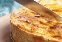 Hartige taarten, quiches, pies