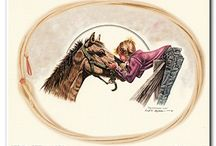Cowgirl Art Print Posters