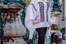 One of a Kind / Eight one-of-a-kind blouses that combine Romanian traditional hand made patterns with urban, ready-to-wear styles.