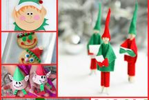 Elf Crafts and Activities! / A delightful collection of Elf craft ideas, games and activities! You will find everything Elfish, from Elf Crafts for Kids to Elf inspiration for Grandma, to classroom ideas for teachers! There are plenty of Elf inspired crafts, recipes, art projects, ornaments, photos, Elf games and activities, and more for toddlers, pre-schoolers, kids, teens, and adults! Have fun! / by Letters from Santa