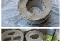 adornos de cemento