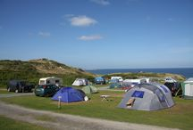 Touring and Camping / At Beachside Holiday Park we offer a range of pitches with or without electric hook-up, all suitable for caravans, tents or motorhomes. With excellent facilities, our location provides the perfect base to tour the whole of West Cornwall.