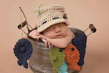 crochet newborn photoshoots