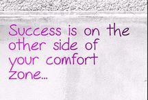 Comfort Zone / Inspiring Quotes
