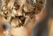 Wedding hair + make-up