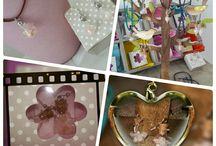 Ciondoli e Orecchini di Sale Rosa / Ecco le nostre creazioni con Sale Rosa puro e certificato!!! Totalmente hand made e made in Italy!