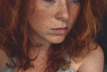 Redhead and freckles