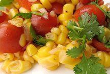 Soups, Salads, Vegetables & Sauces