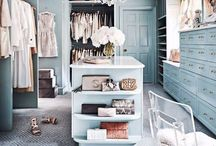 Closets Ideas ...Big or Small / Great ways to utilize space in closets.