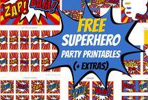 Superhero Geburtstag