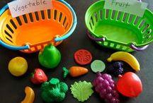 Preschool Theme- fruits and veggies