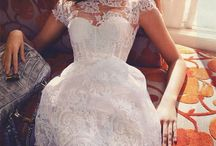 Dresses:  lace
