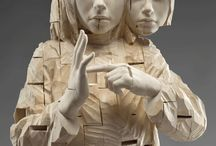 Rzeźby -Wood