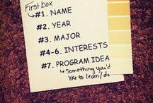 RA ideas / ra schtuff / by Kathryn :)