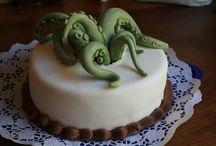 Chtulu cakes