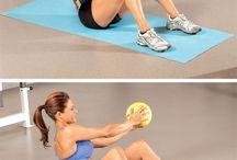 Medicine Ball Exercises / by Oxygen Magazine