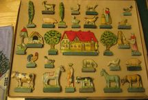 Lithograph cardboard toys