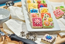 Decorated cookies / by Kristy Ketterlin