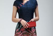 model Cheongsam Favorit