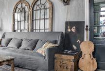 Rusztikus nappalik / rustic living room