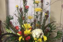 Casket flowers / Woodsy casket flowers