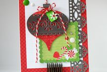 Christmas / Christmas paper crafts, Christmas cards, Christmas card tutorials, altered Christmas crafts and more. / by Top Dog Dies