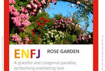 Garden Type table / Gardens that represent each of the MBTI Type characteristics