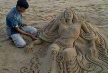 пясъчна скулптура