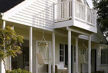 Przepiękny dom w którym króluje biel :)