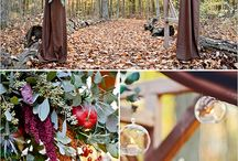 Michigan fall wedding