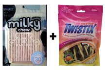 .Buy Milky Chew Stick Style Dog Treat and Twist ix Small Dental Chews / Shop online at #Milky_Chew_Stick_Style_Dog_Treat and Twistix Small Dental Chews at your trusted Online Pet Store - 4petneeds.com. Health Benefits:-  Natural energy booster Builds immunity system Heals cuts and burns Good source of vitamins and minerals…