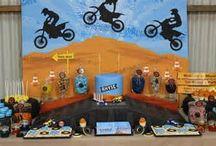 Evans dirt bike party ideas / by Charis Warren Calhoon