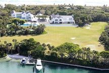 Tiger Woods / Tiger Woods and his wife originally bought the property for $40 million but he tore the original home down and rebuilt his own mansion spending another $20 million on what you see today.