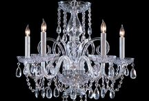 Crystal Chandeliers / Visit our extensive crystal room in Hartford, CT & Southington, CT. www.CTLighting.com