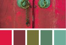 Colours / Palettes and coulours matching together / by Minna Herranen