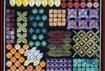 BARGELLO (Olasz hímzés) - Italian embroidery