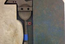 Escultura abstracta / La Abstracción en relieves y esculturas.