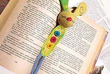 Crochet - Horgolás (Bookmark - Könyvjelző)