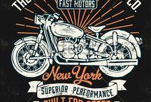 Harleys antigas