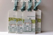 Holiday Home Stampin Up