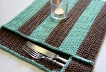 Crochet and Knitting in the Kitchen