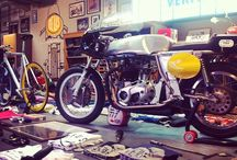 Café Racer cafés - Workshops / Where to ride next?
