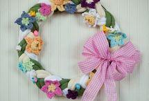 wreath ideas / by handmadefuzzy